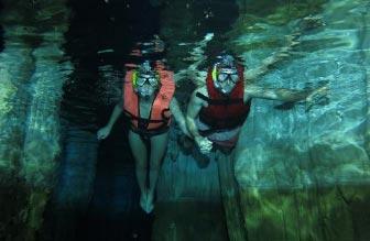 yucatan caverna snorekl